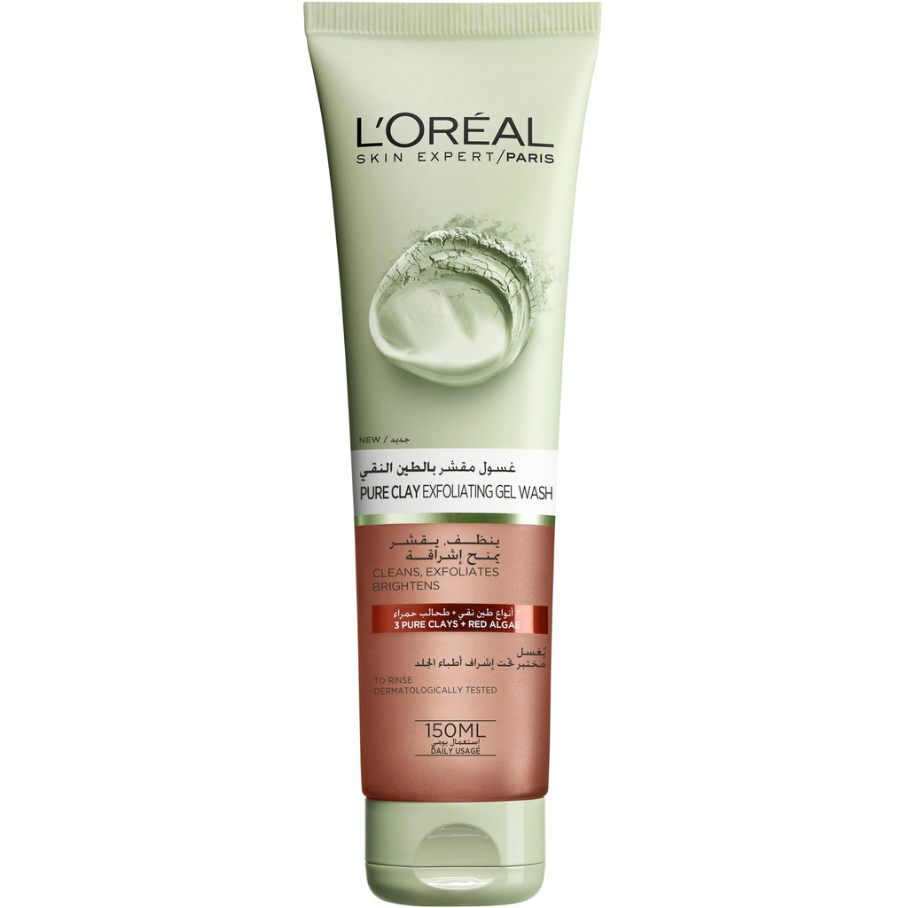 L'Oreal Paris Pure Clay Glow Scrub: Brightens & Exfoliates - Red Algae