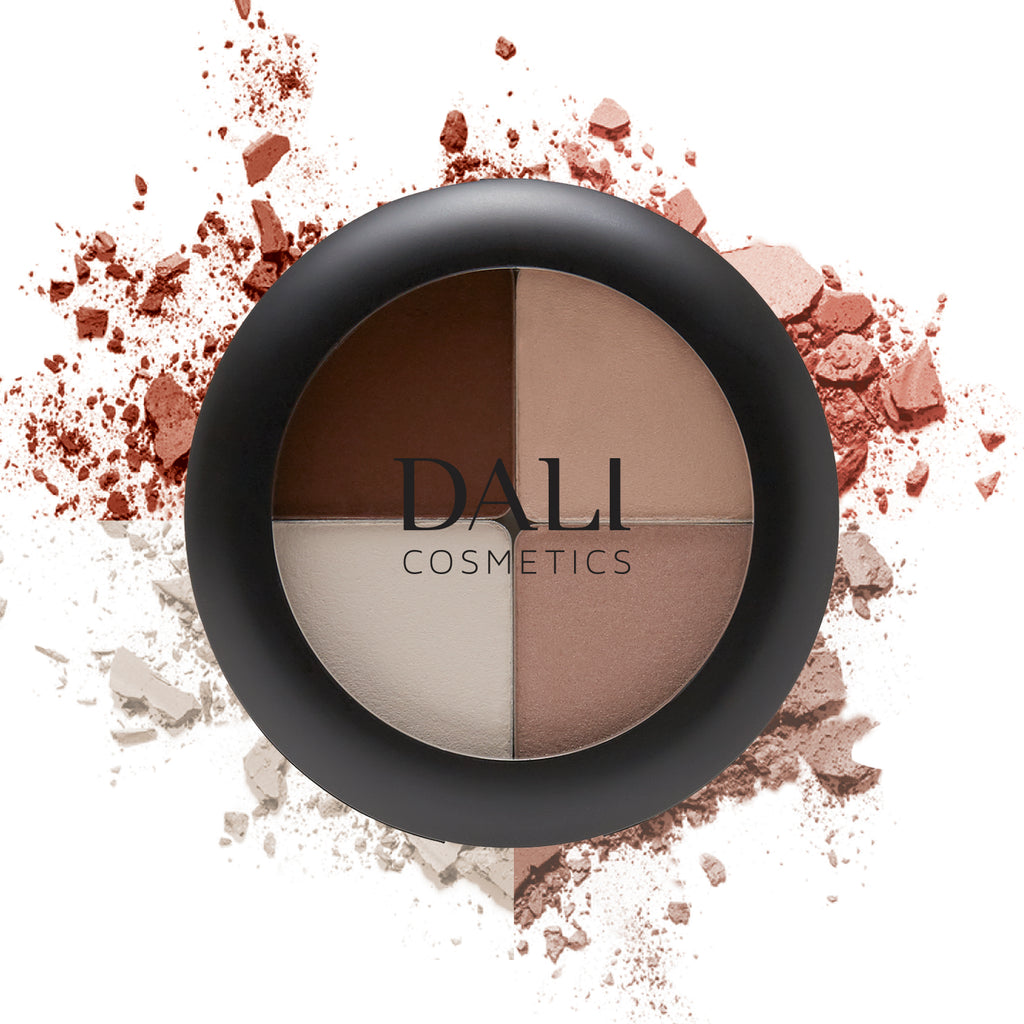 Dali Cosmetics New Eyeshadow Quattro - 6 Palettes Available