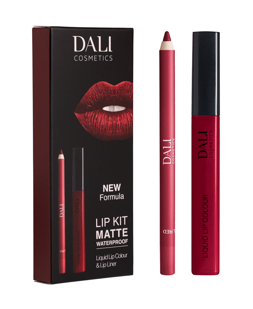 Dali Lip Kit Matte Waterproof Limited Edition Essentials