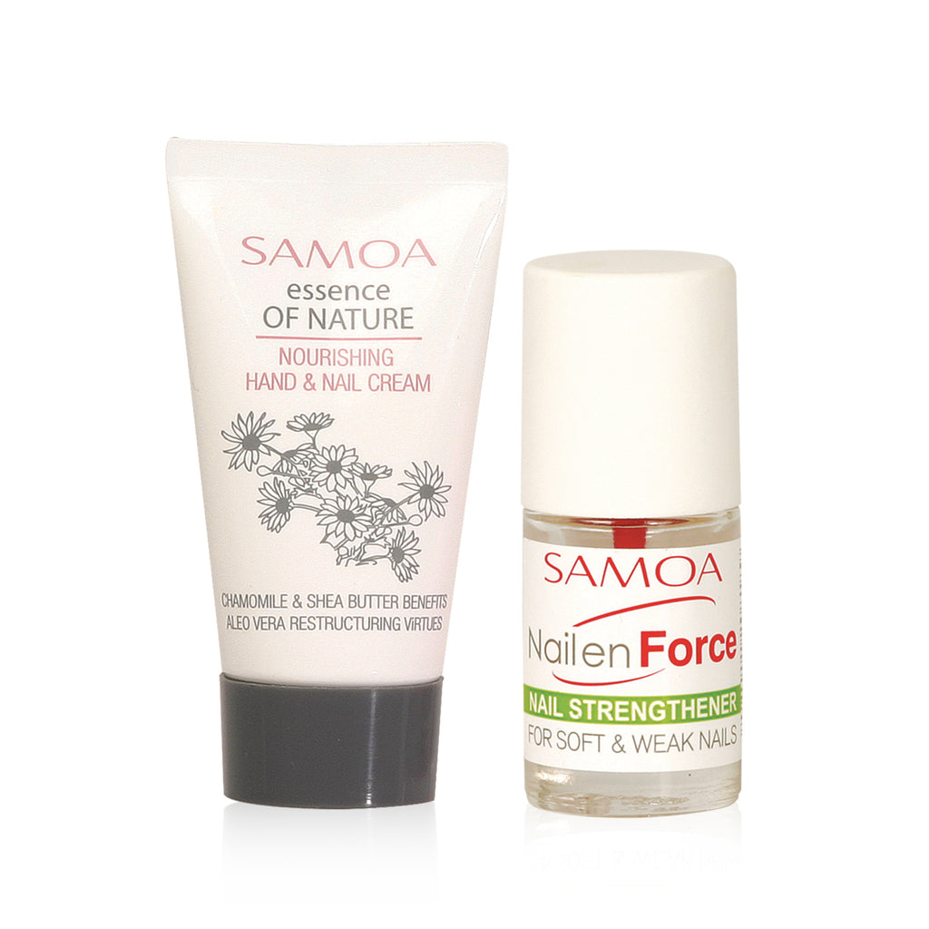 Samoa Nails and Cuticles Rescue Kit - Soft & Weak Nails