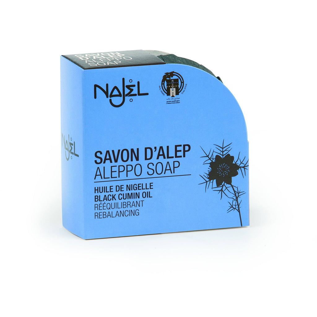 Najel Aleppo Soap with Black Cumin Oil