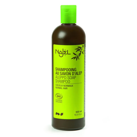 Najel Shampoo with Aleppo Organic Soap 80ml Sample