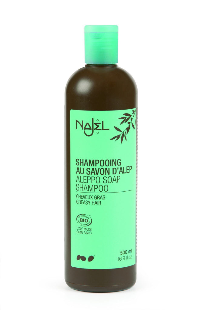 Najel Shampoo with Aleppo Organic Soap - Greasy Hair