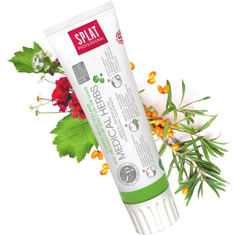 Splat Medical Herbs Toothpaste - Total Care & Gum Health