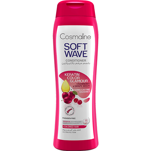 Cosmaline Soft Wave Keratin Color Glamour Conditioner 400ml