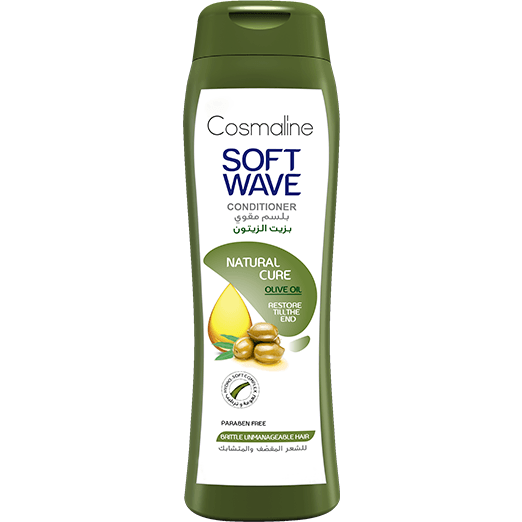 Cosmaline Soft Wave Natural Cure Conditioner Olive Oil  400ml