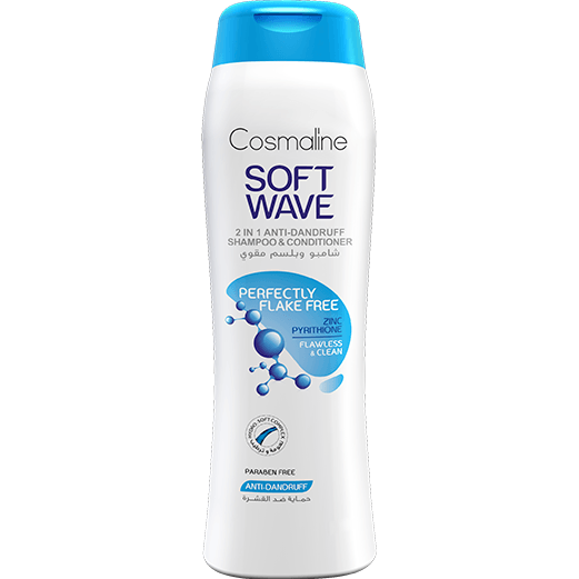 Cosmaline Soft Wave Perfectly Flake Free Shampoo & Conditioner 400ml
