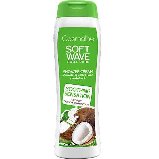 Cosmaline Soft Wave Soothing Sensation Shower Cream - Coconut Milk