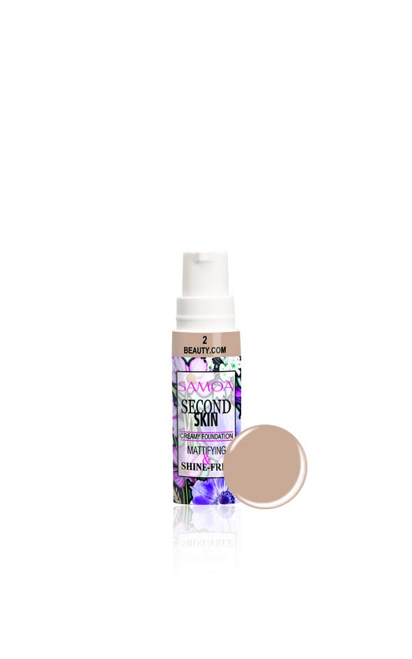 Samoa Second Skin Creamy Foundation 50% OFF