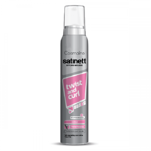 Cosmaline  Satinett Twist And Curl Styling Mousse