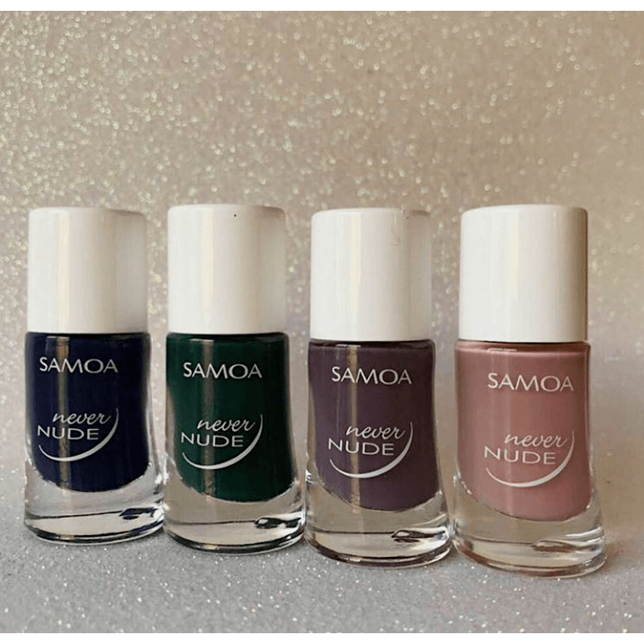 Samoa Never Nude Nail Polish Winter 2017 Collection (4 Colors)