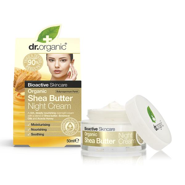 Dr. Organic Shea Butter Night Cream