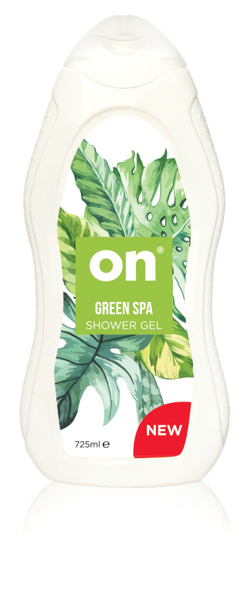 ON Shower Gel Green SPA - Old Packaging