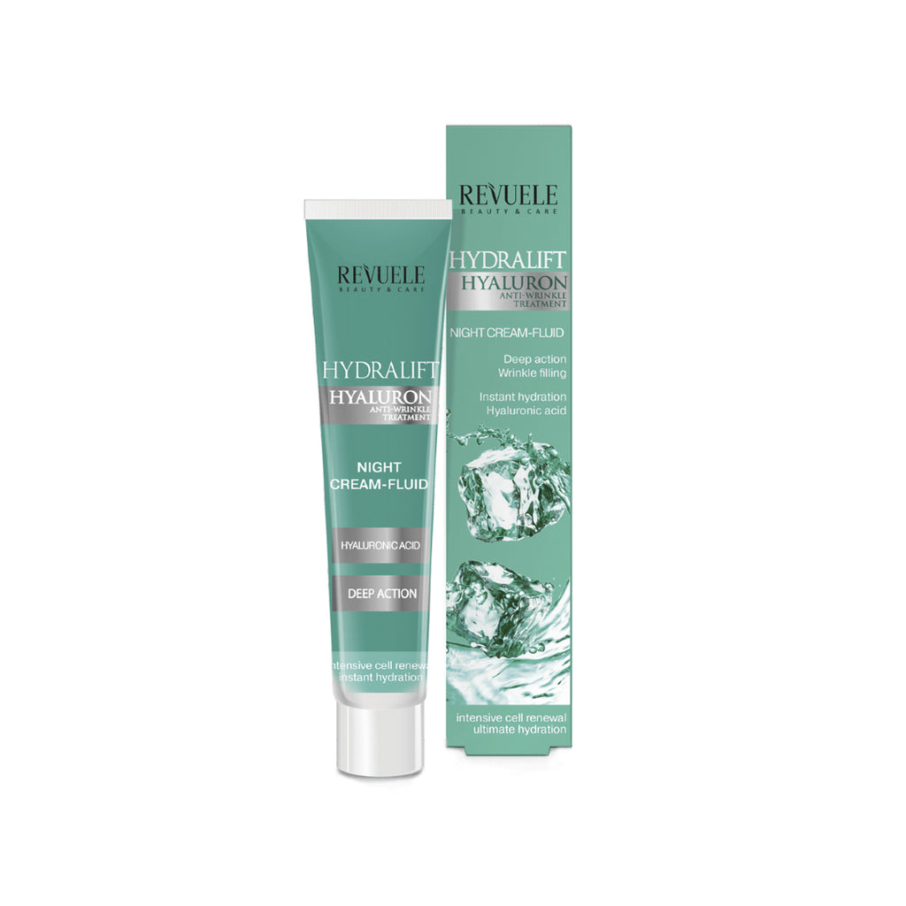 Revuele Hydralift Hyaluron Night Cream- Fluid