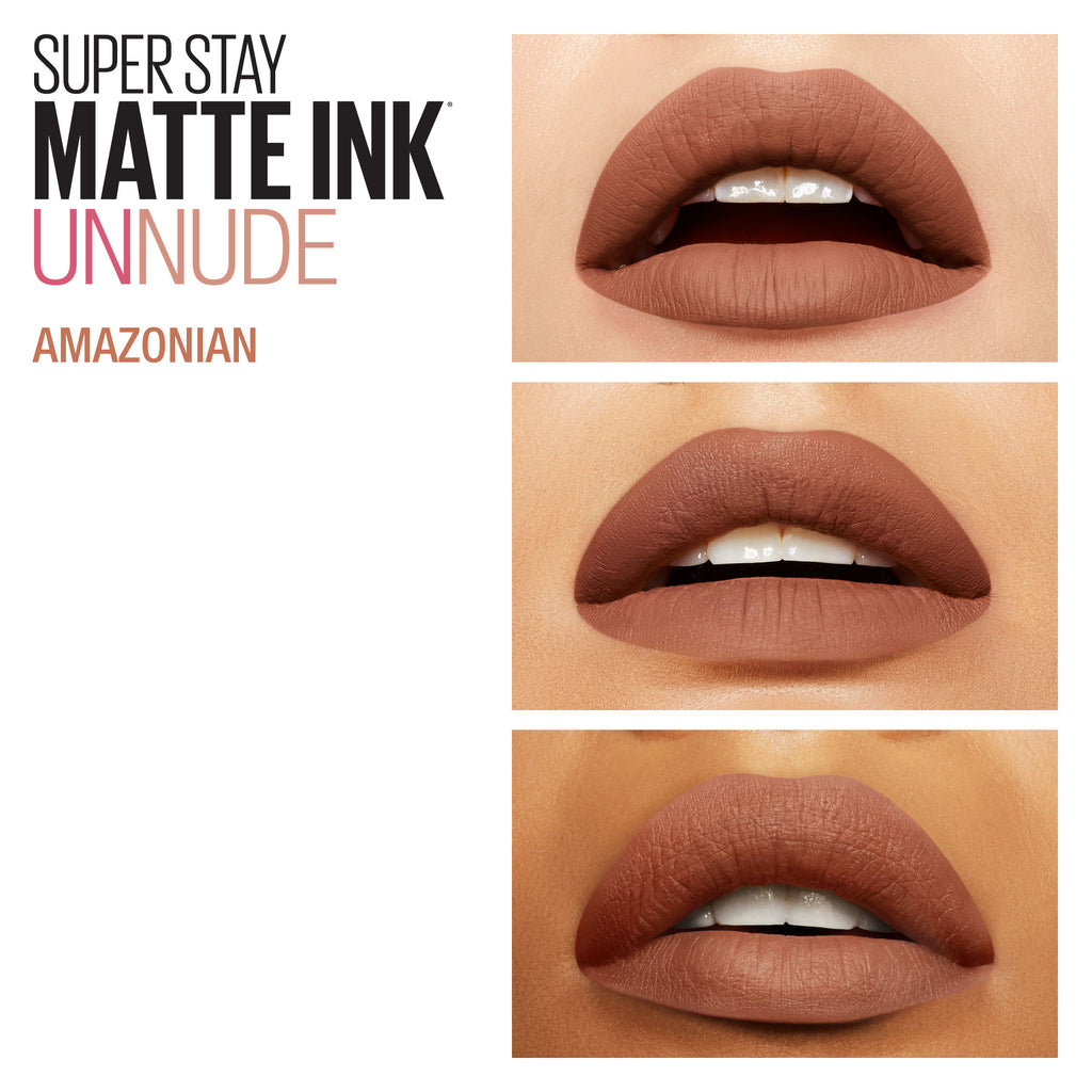 Maybelline SuperStay Matte Ink Lipstick Un-Nudes Collection - 6 Shades