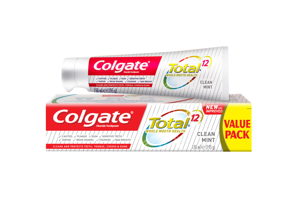 Colgate Total 12 Whole Mouth Health Toothpaste - Clean Mint