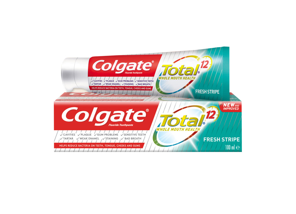 Colgate Total 12  Whole Mouth Health Toothpaste -Fresh Stripe