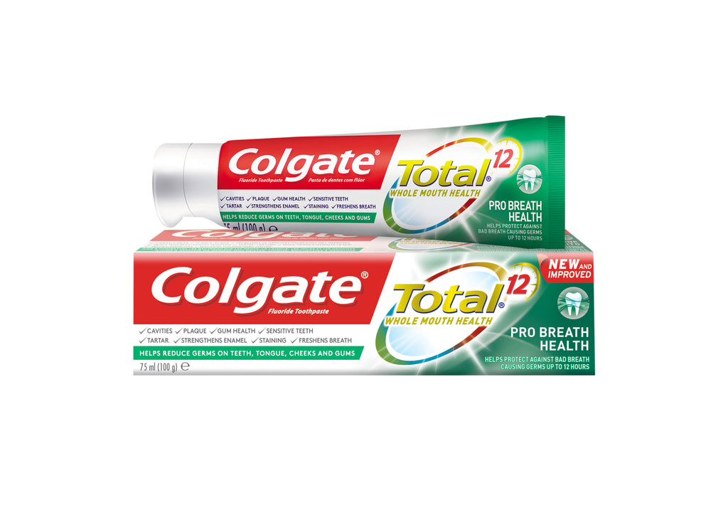 Colgate Total 12  Whole Mouth Health Toothpaste - Pro Breath Health