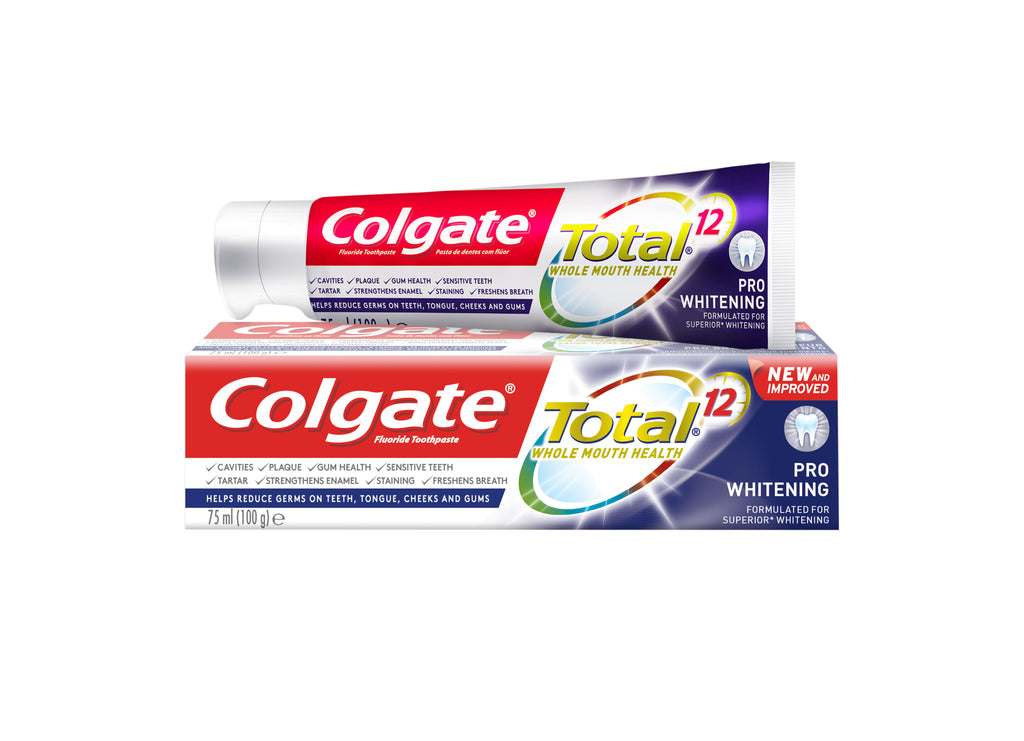 Colgate Total 12  Whole Mouth Health Toothpaste - Pro Whitening