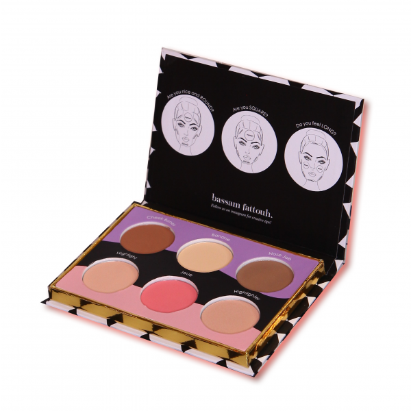 Bassam Fattouh The Blur Kit - Contouring and Highlighting + FREE Brush + Blender -  Offer