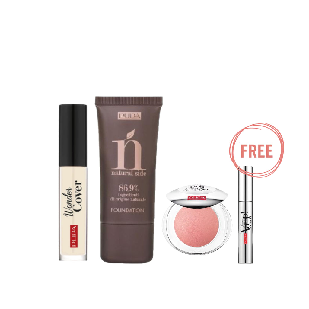 Pupa Milano Natural is trendy Ramadan Bundle + Free Vamp Mini Mascara