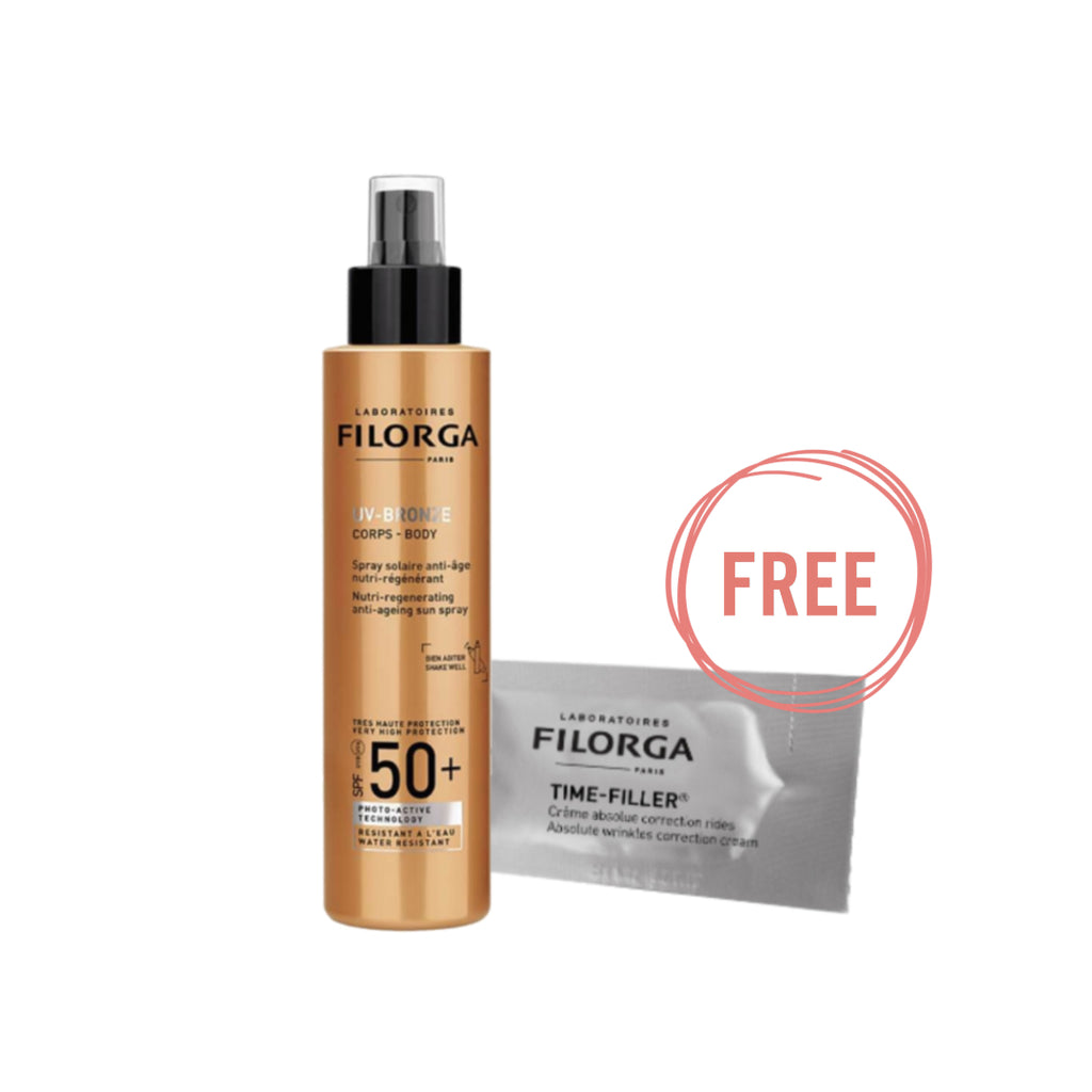 Filorga UV Bronze Body Spf50 Ramadan Offer + 5 Free Samples
