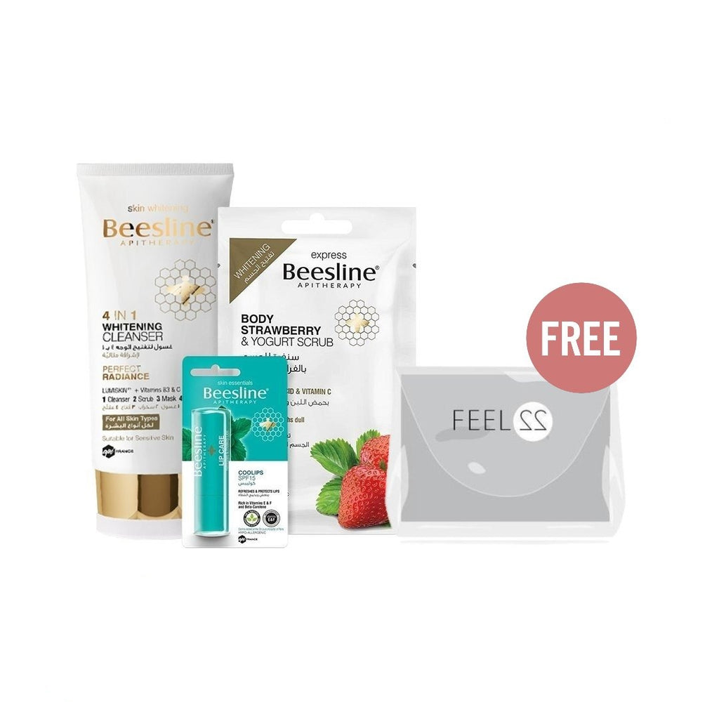 Beesline Pamper Yourself Valentine Bundle + Free Pouch