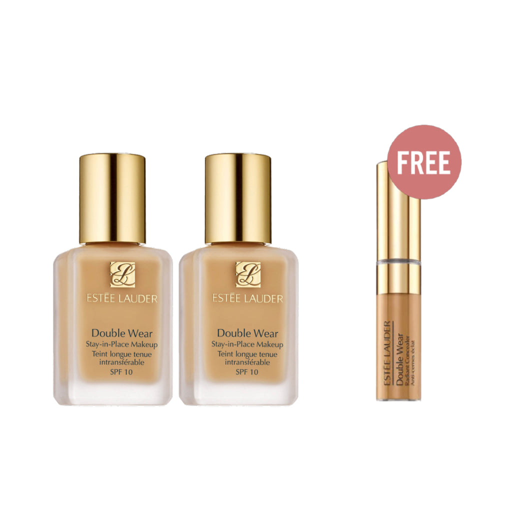 Estee Lauder Double Wear Valentine Offer: 2 Foundations + Free Concealer
