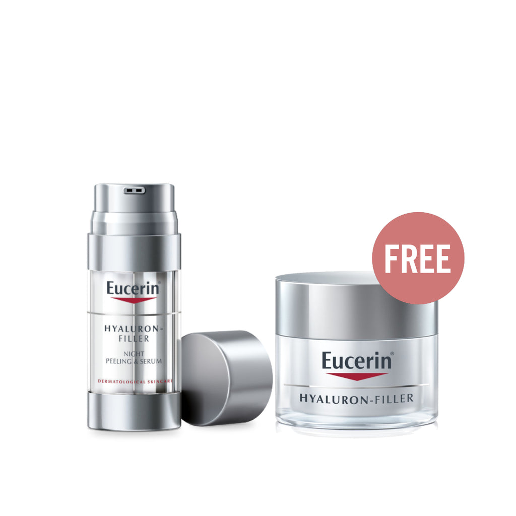 Eucerin Mother's Day Offer: Buy 1 Night Serum Get 1 Day Cream For Free!