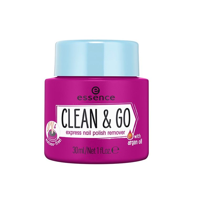 Essence Clean & Go Nail Polish Remover