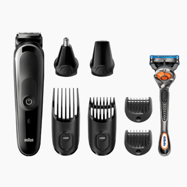 Trim Braun MGK5060 Rechargeable + Gillette Fusion5