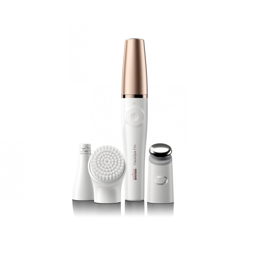 Braun FaceSpa Pro 911 Facial Cleansing Brush + Face Brush + FREE Silver Elite Squad!