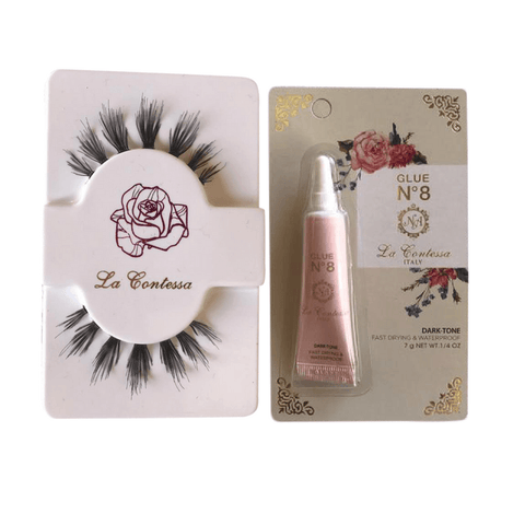 La Contessa Lashes - Individual Lashes with glue