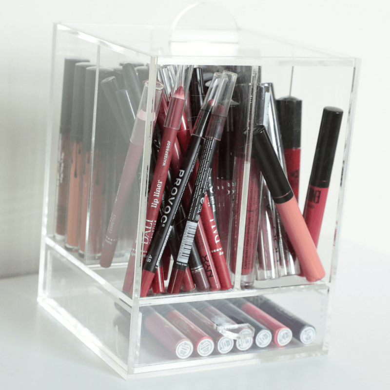 By Nadia M - Cover it up! Brush & Lipstick Holder