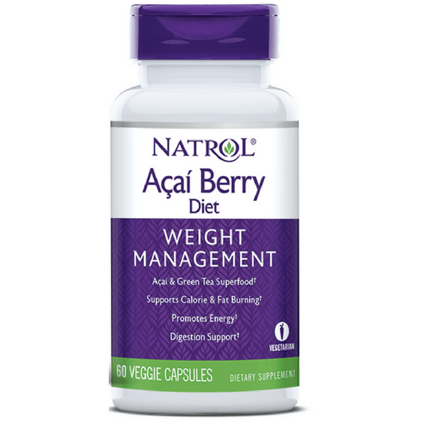 Natrol Acaiberry Diet Supplements