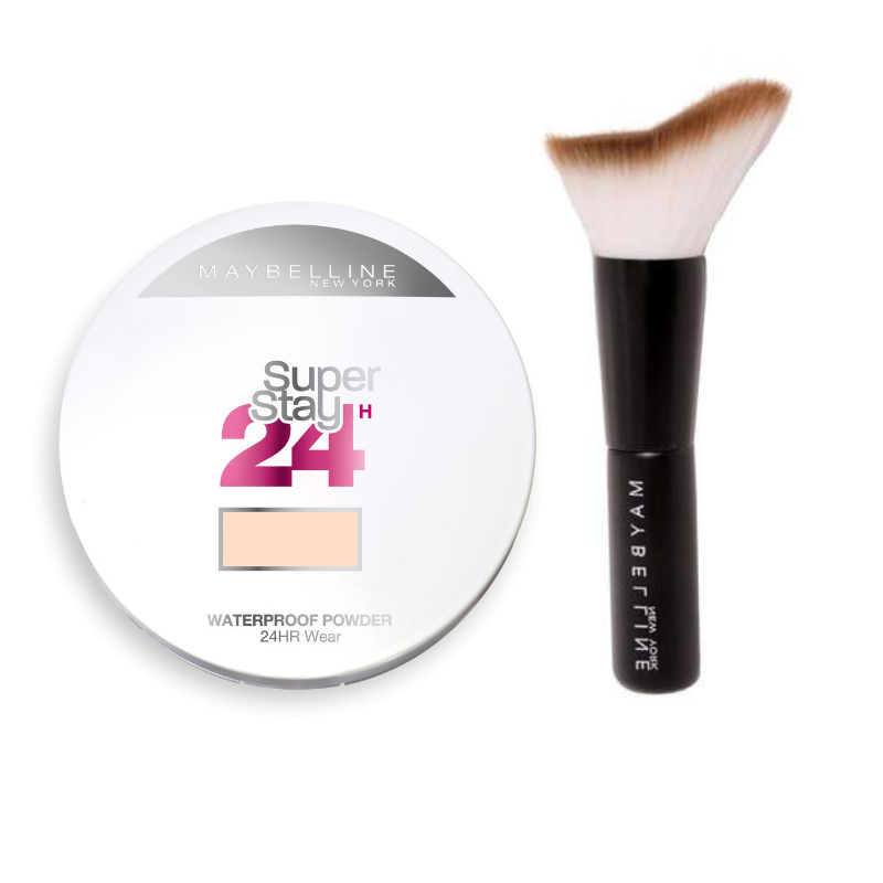Maybelline SuperStay Powder Foundation 24h + Free Brush