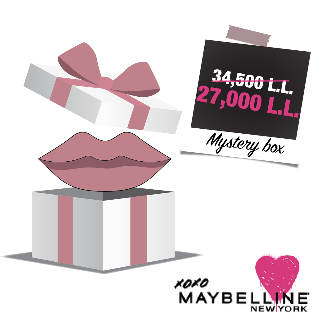 Maybelline Valentine's Special Lipstick + Lipliner Mystery Box - Save 22% Off