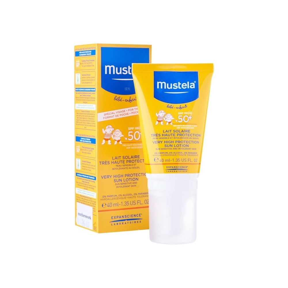 Mustela Very High Protection Sun Lotion for the Face + Sun Game Gift