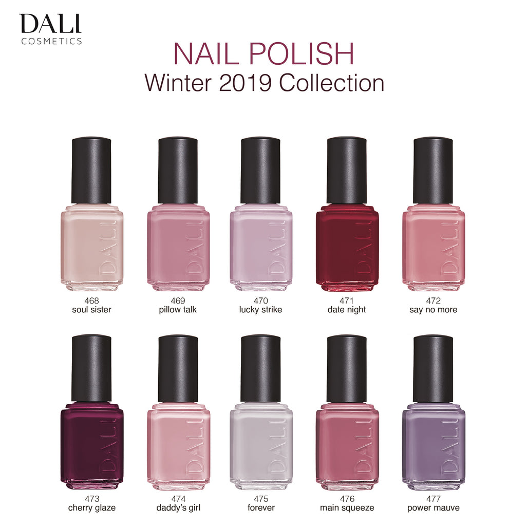 Dali Cosmetics Nail Polish - Winter 2019 Collection