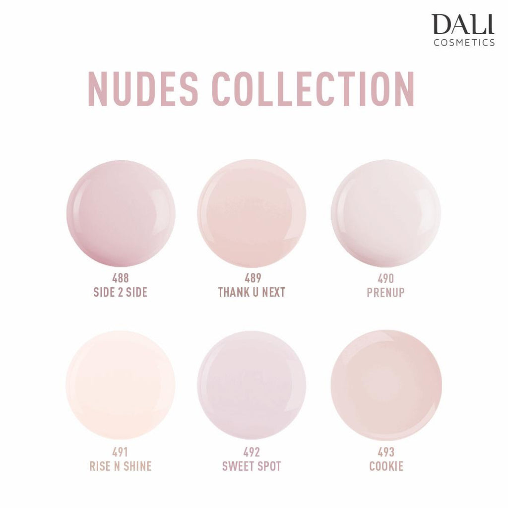 Dali Cosmetics New Nudes 2020 Nail Polish Collection