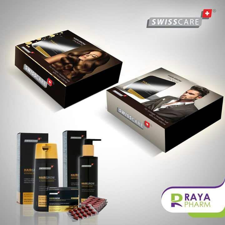 Swisscare Hair Grow Gift Set For Men