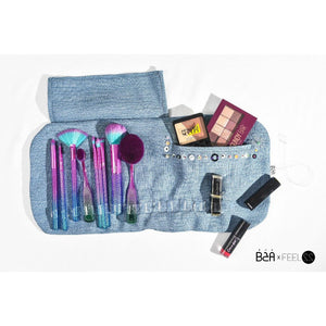 EXPOSED Rolled Up - Makeup & Brushes Bag