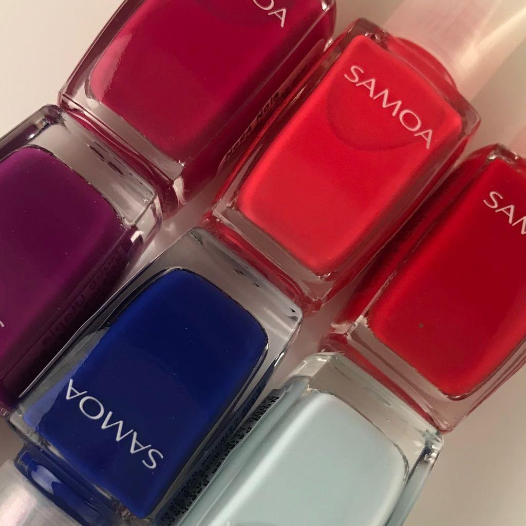 Samoa Color Crush Nail Polish 2018 Collection (6 Colors Available)