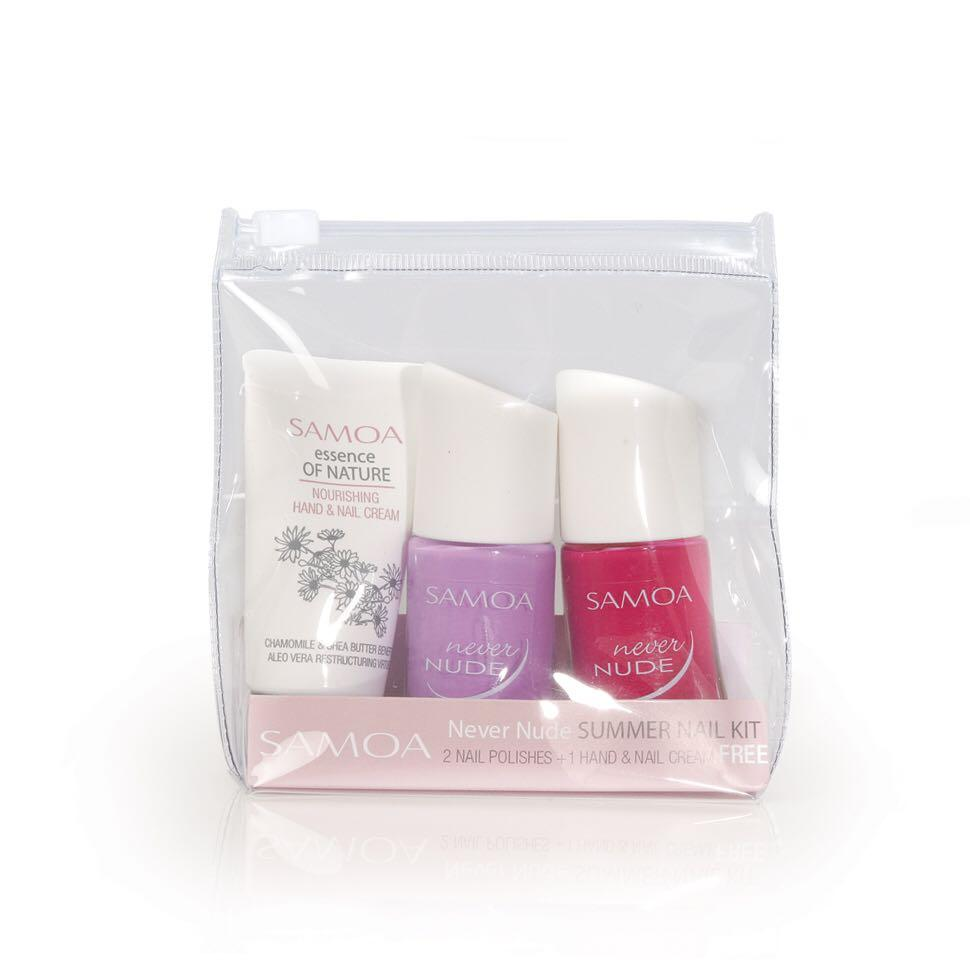 Samoa Never Nude Summer Nail Kit (2 Colors)