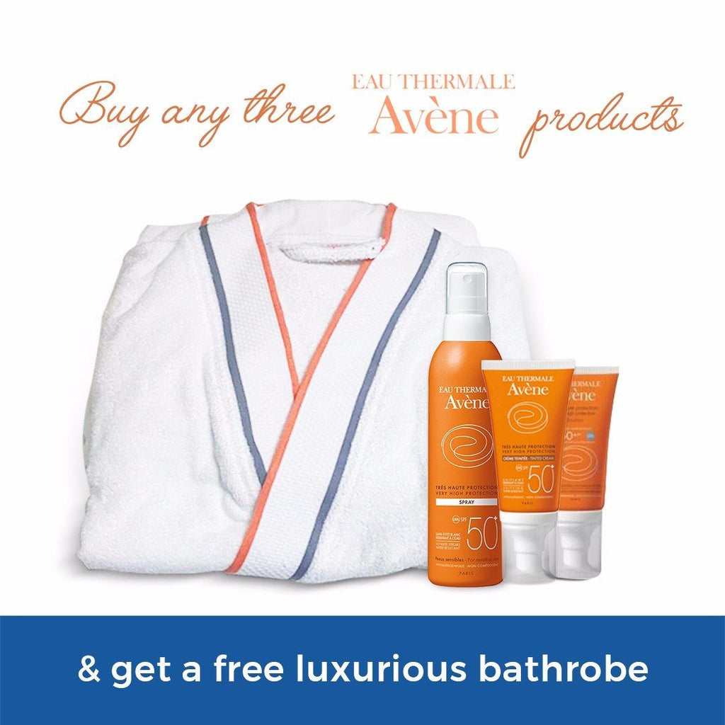 Avene Bathrobe - Gift with any 3 Avene Products [Not for Sale]