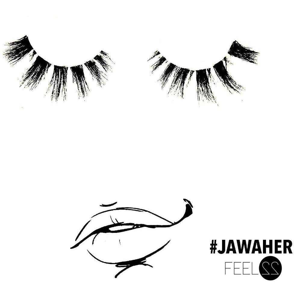 Samra Lashes One Pair - Luxury Collection #Jawaher