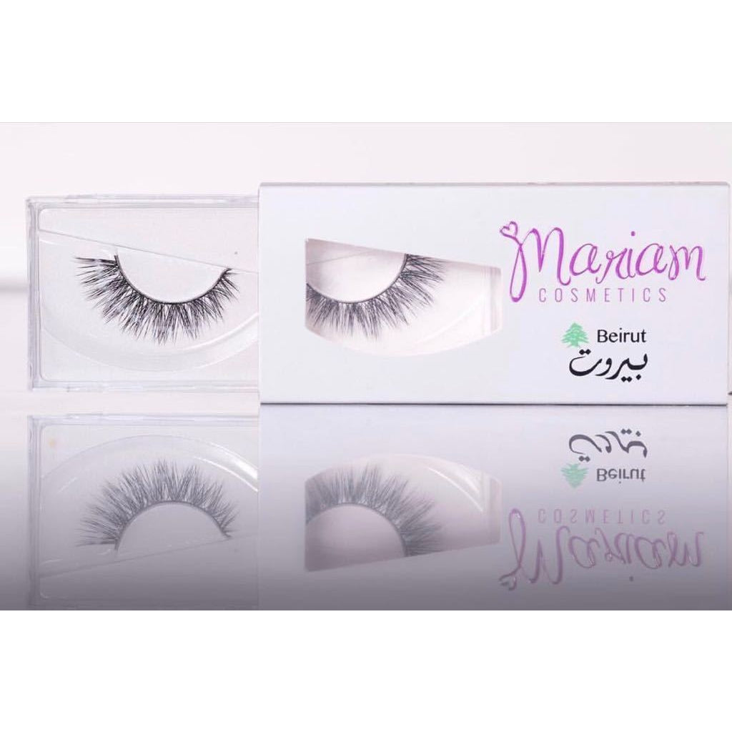 Mariam Cosmetics False Lashes - Beirut