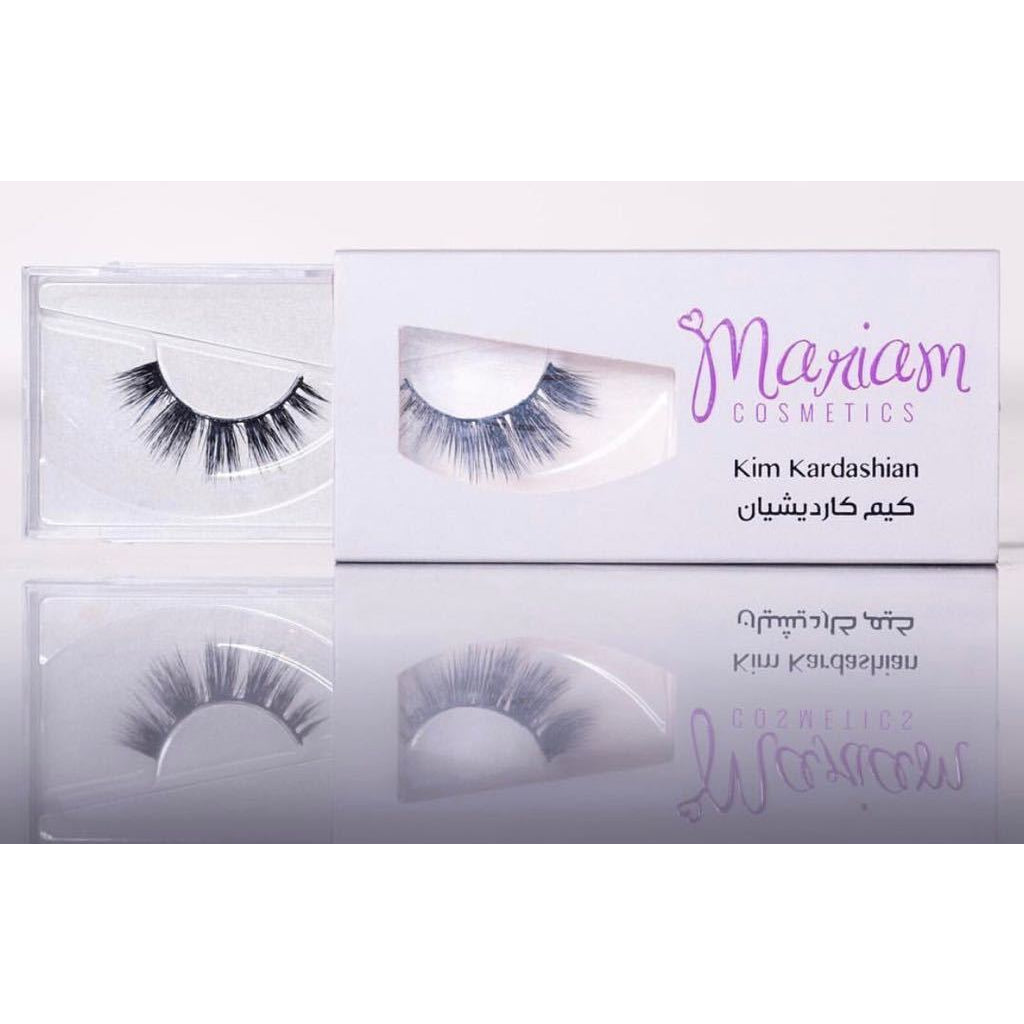 Mariam Cosmetics False Lashes - Kim Kardashian