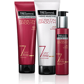 TRESemme 7 Day Smooth System: BUY Shampoo & Lotion GET FREE Conditioner