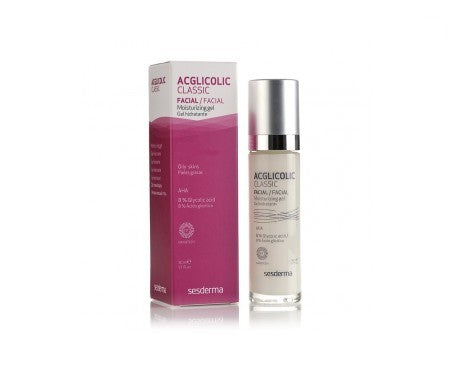 Sesderma Acglicolic Classic Moisturizing Gel Cream 50ml